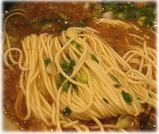 目黒屋(ぎょうてんらーめん)極鮮鰹麺 醤油の細麺