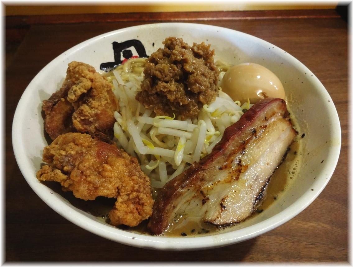 麺処丹行味素超辺鄙 ガッツリ!焦がし味噌麺