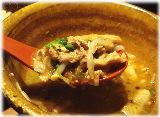 豚麺研究所 香 ポーク強人辣油つけ麺の具