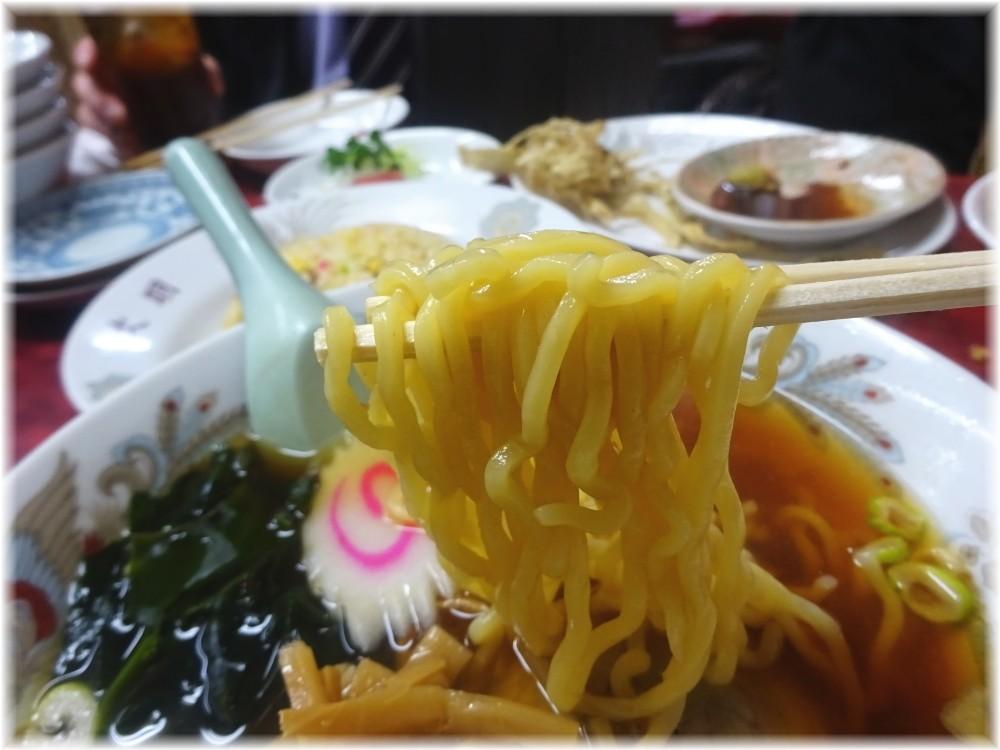 大明飯店 ラーメンの麺