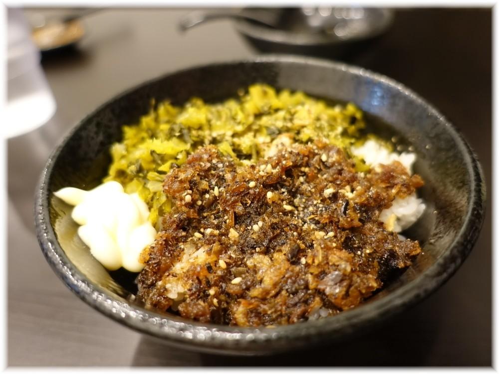 麺屋笹苑2 高菜魚介丼