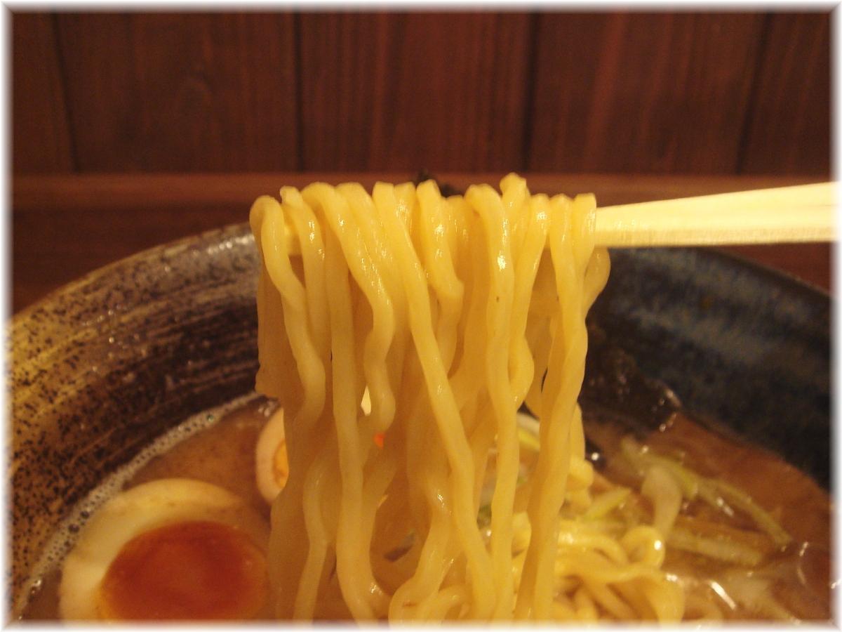 翠蓮 らーめんの麺