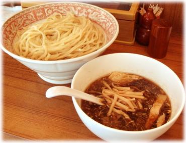 麺処三四郎 魚粉醤油つけ麺