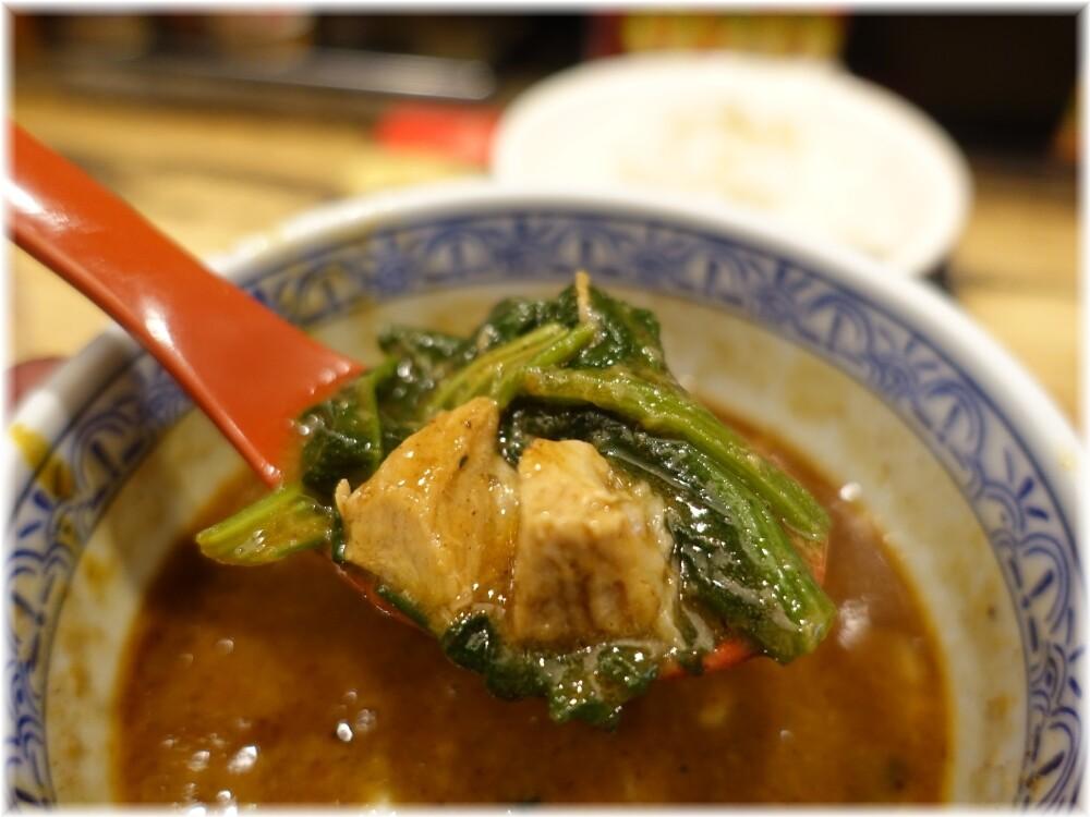 三田製麺所8 カレーつけ麺の具