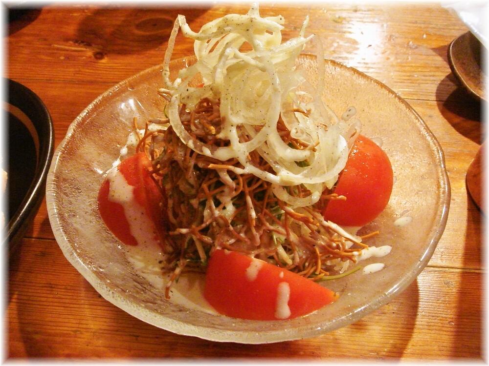 麺やおの カリカリ麺のシーザーサラダ