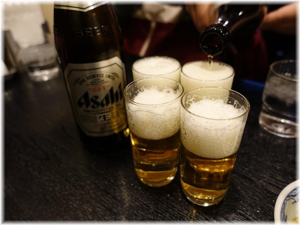 赤のれん西麻布 ビール