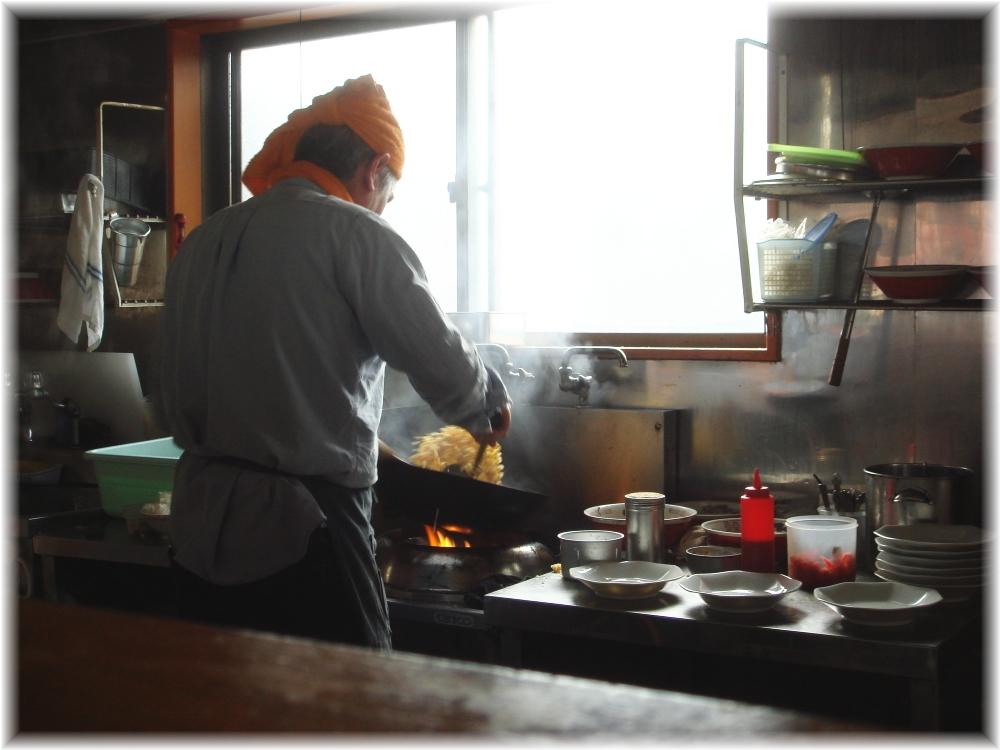 田の久 厨房