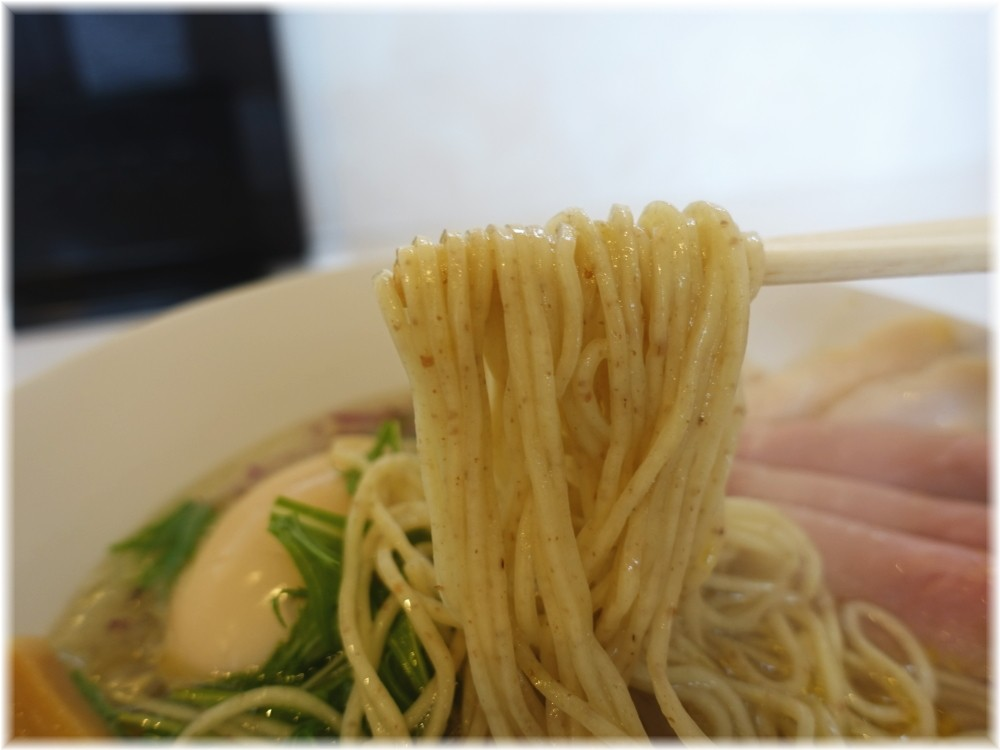 Noodle Kitchen KYO2 特製塩そばの麺