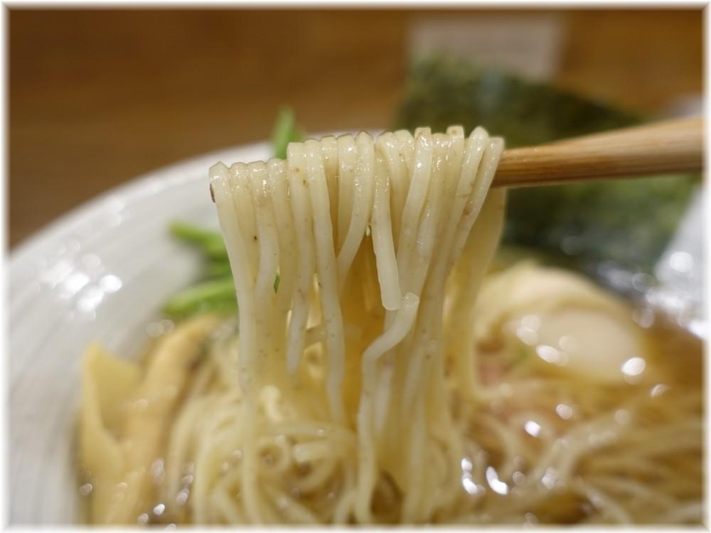 きなり2 味玉山椒白醤油そばの麺