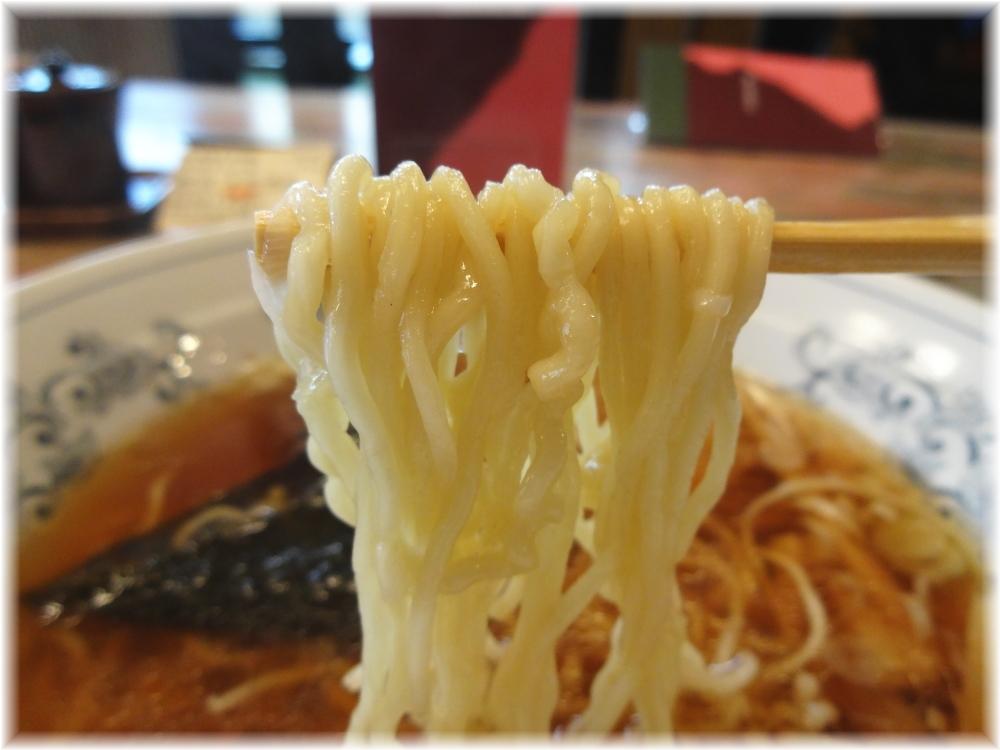 春木家本店 中華そばの麺