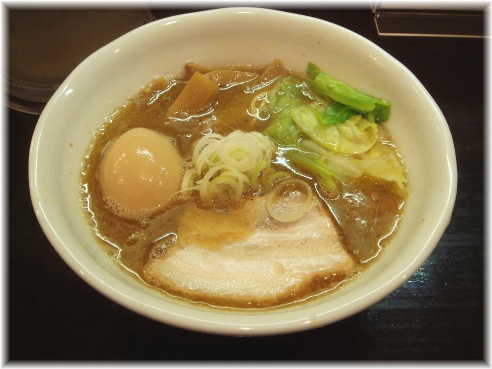 づゅる麺池田 目黒 味玉らーめん
