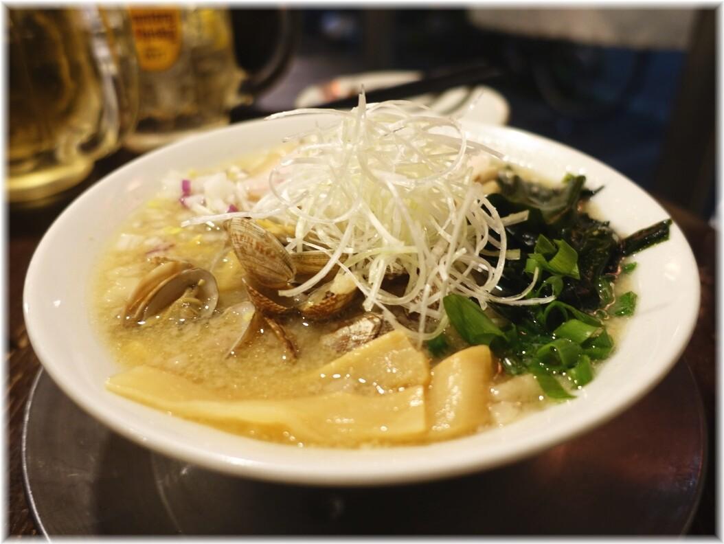 金町製麺13 浅利の味噌そば