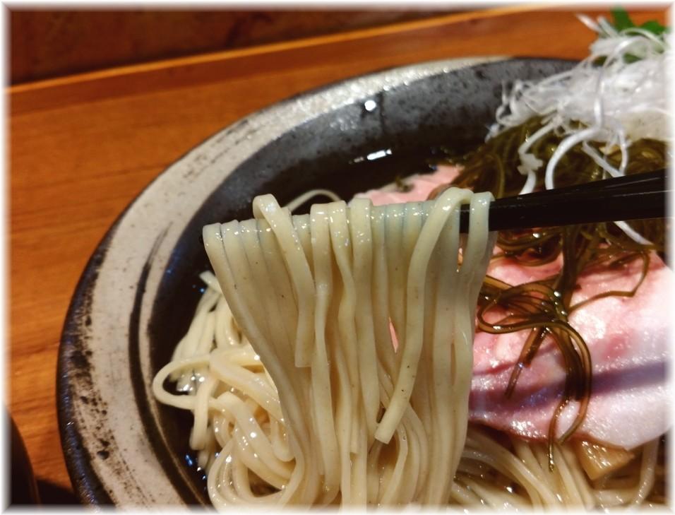 寿製麺よしかわ川越店2 鴨つけそばの麺