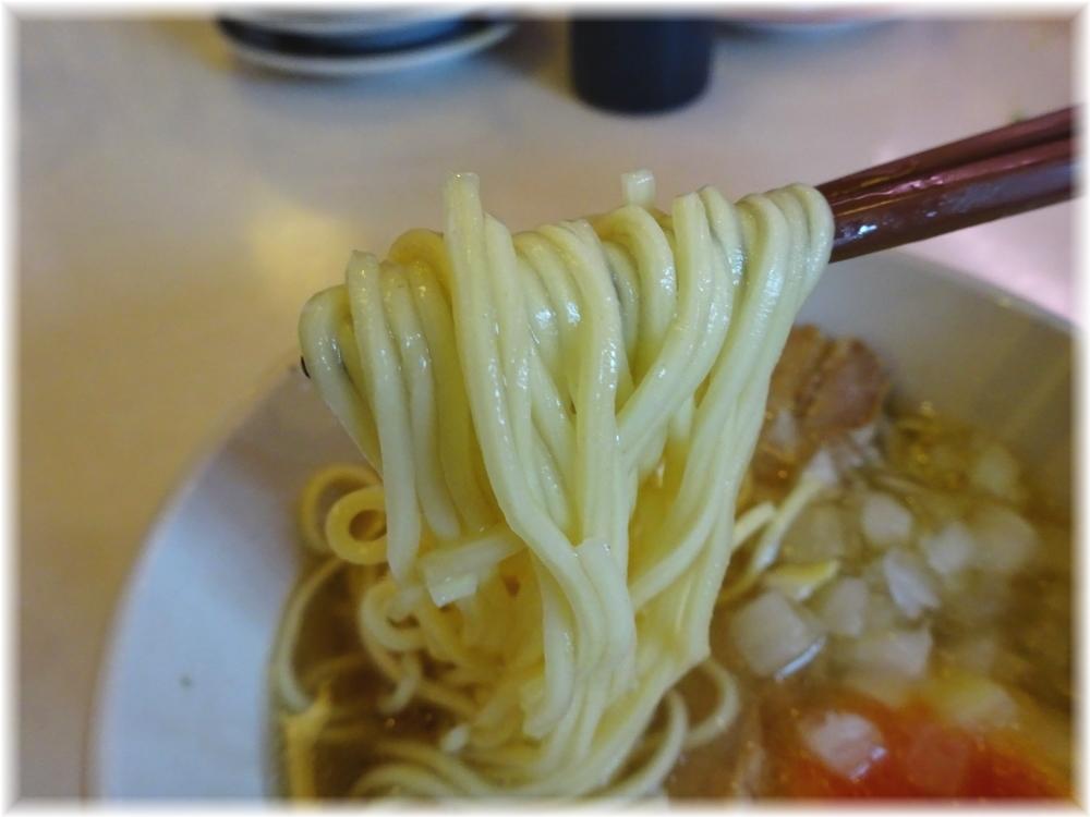 はま寿司 コク旨煮干しラーメンの麺