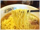 雷文 肉玉ラーメン(塩)の麺