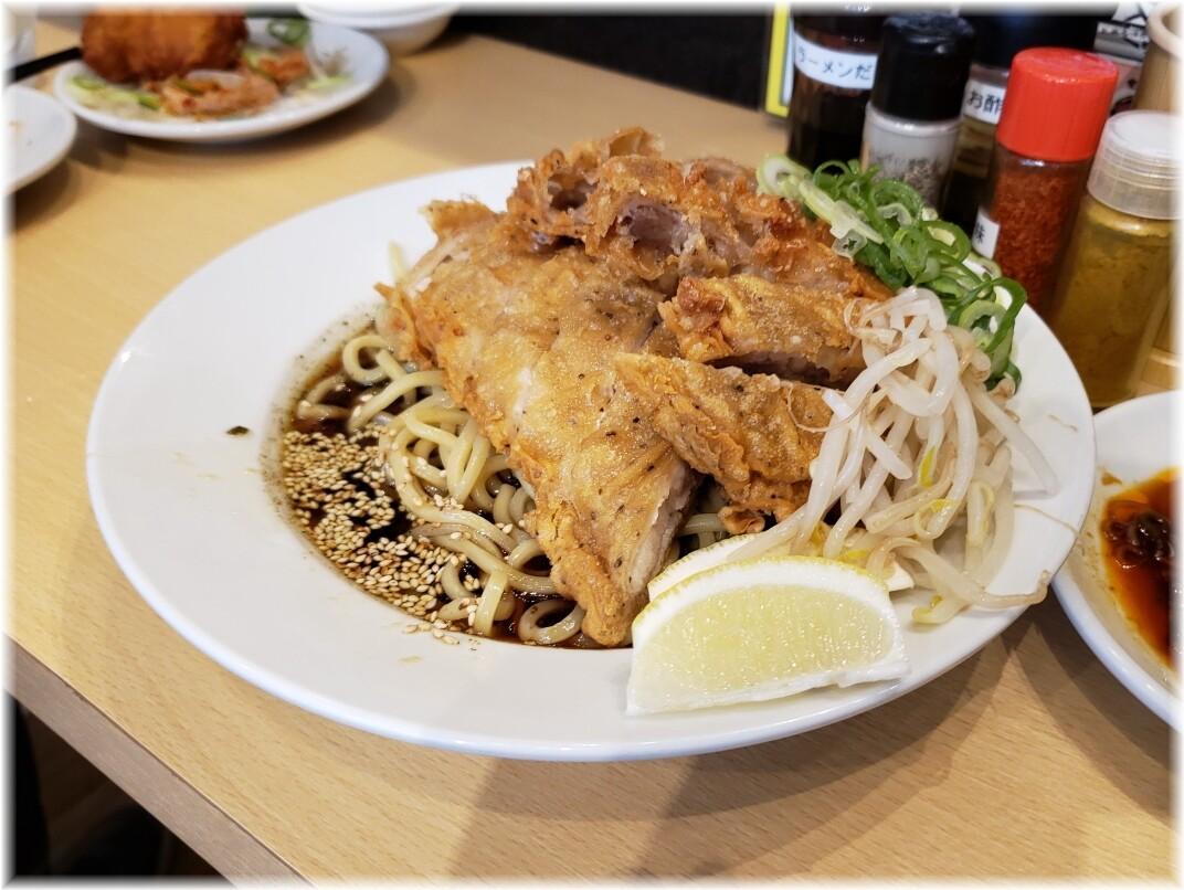 肉汁麺ススム新橋店 冷やし肉汁パーコー麺