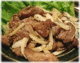 串焼・焼鳥 だいやす 肉のニンニク炒め