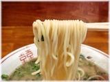 田の久 ラーメンの麺