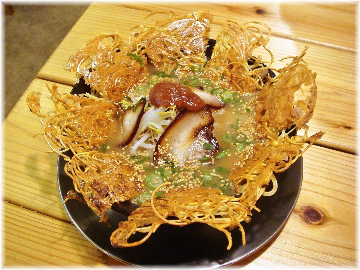 壱の家 豚骨焼麺