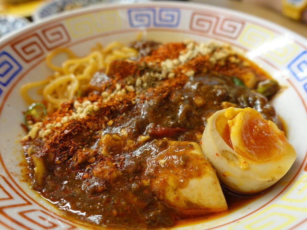 スパイス食堂サワキチ 麻辣麻婆麺の具