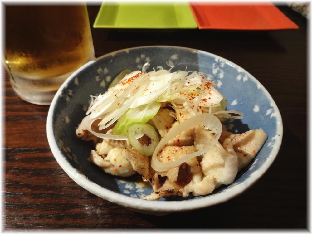 串あげ ムタヒロ4号店 鶏皮ポン酢
