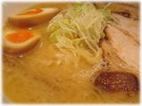 長山 味玉ラーメンのスープ