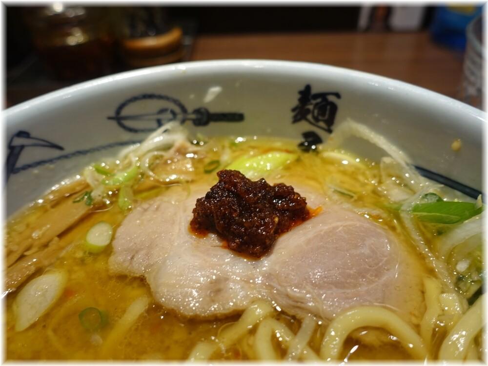 麺屋武蔵浜松町店 味噌ら〜麺に武蔵醤