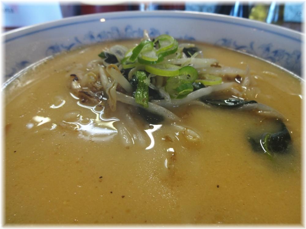 日の出製麺所 味噌ラーメンのスープ