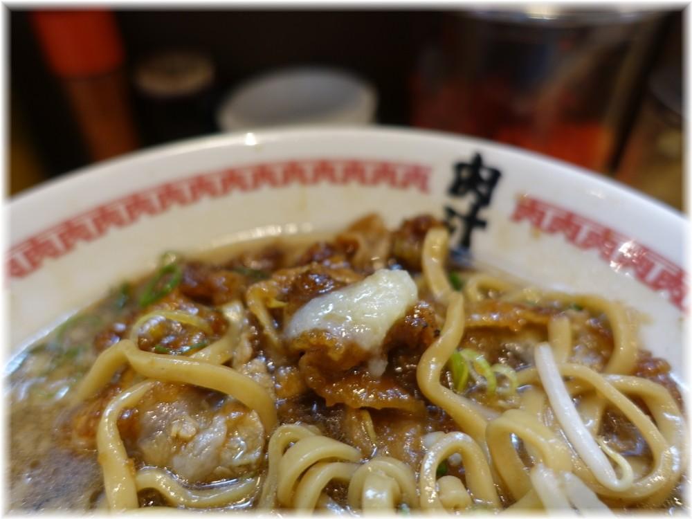 肉汁麺ススム三田店 肉汁麺(レベル2)にニンニク