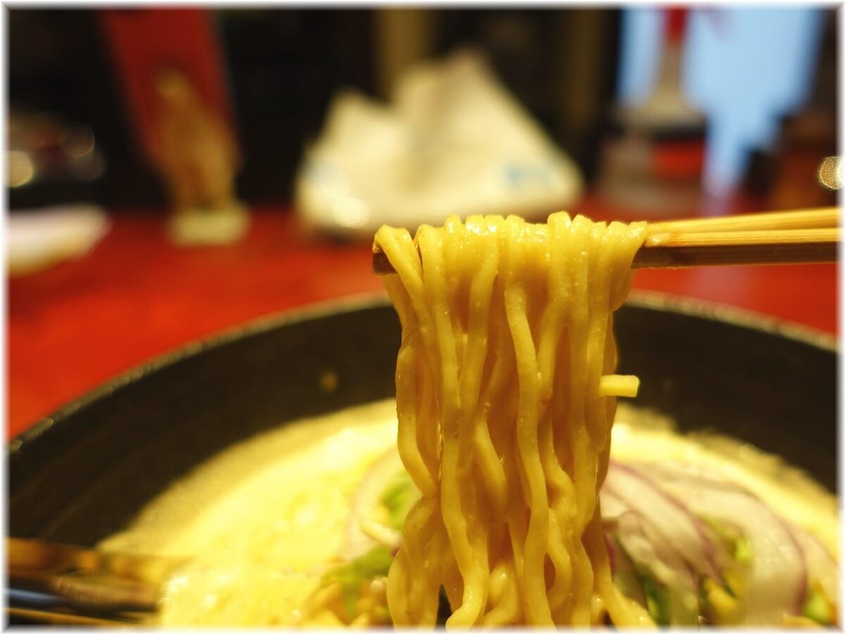 銀座昊 濃厚担々麺の麺