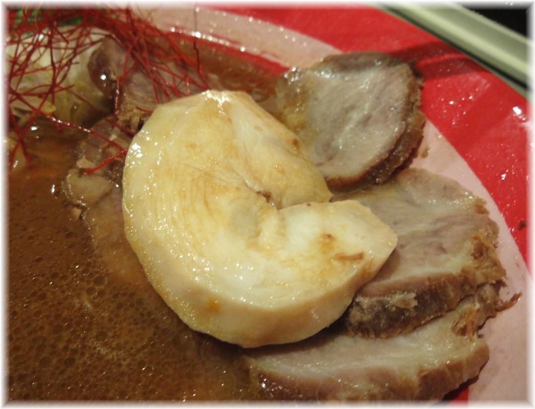 麺やでこ2 特製味噌そばの鶏チャーシュー