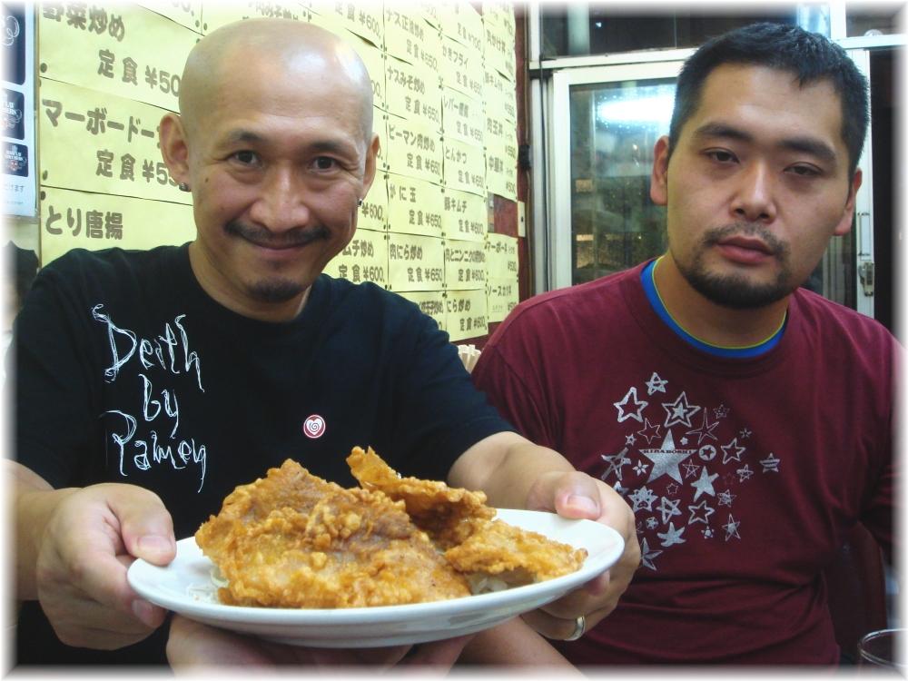 中華料理日の出 豚肉のフライ