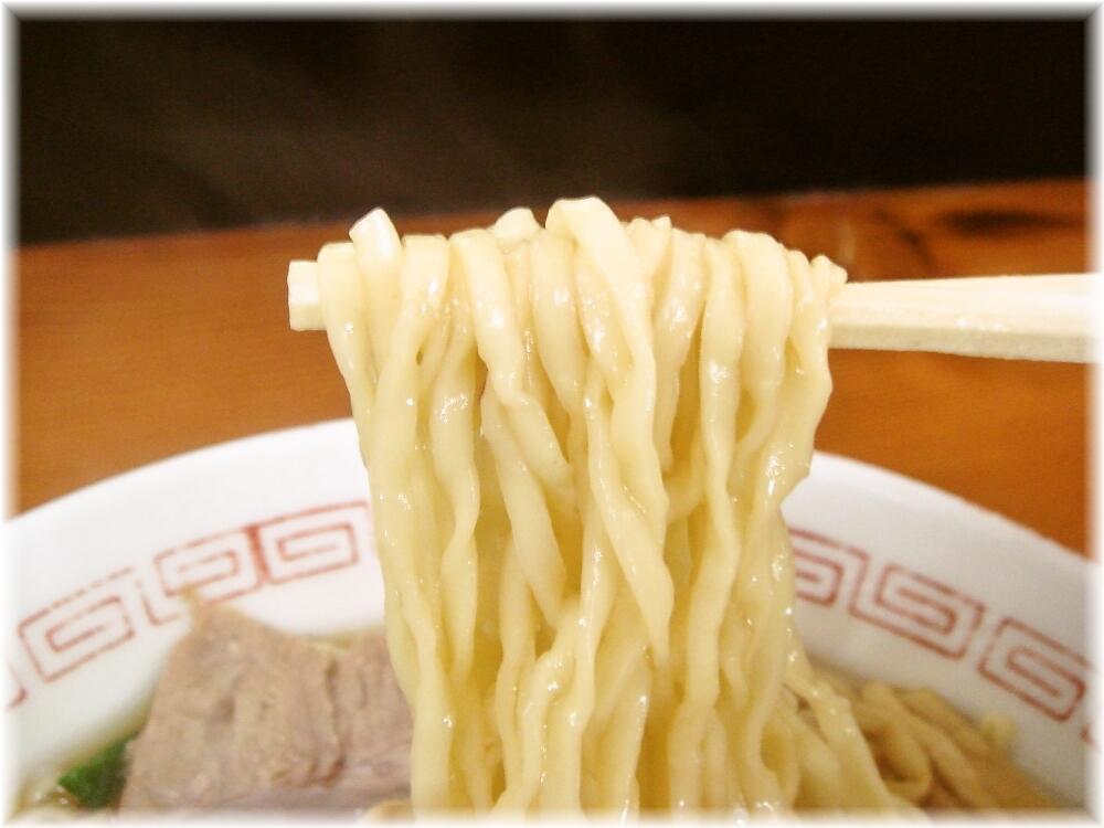 関東軒 支那そばの麺