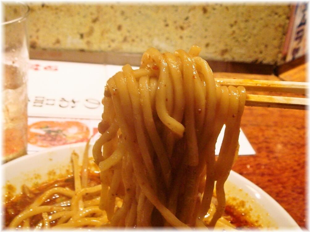 田村屋 震撼味噌タンメンの麺