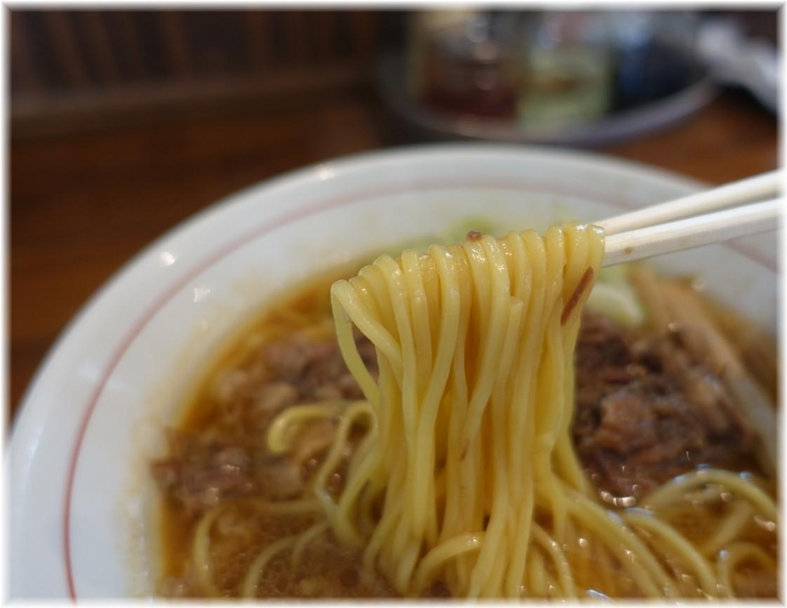 シマシマトム 正油ラーメンの麺
