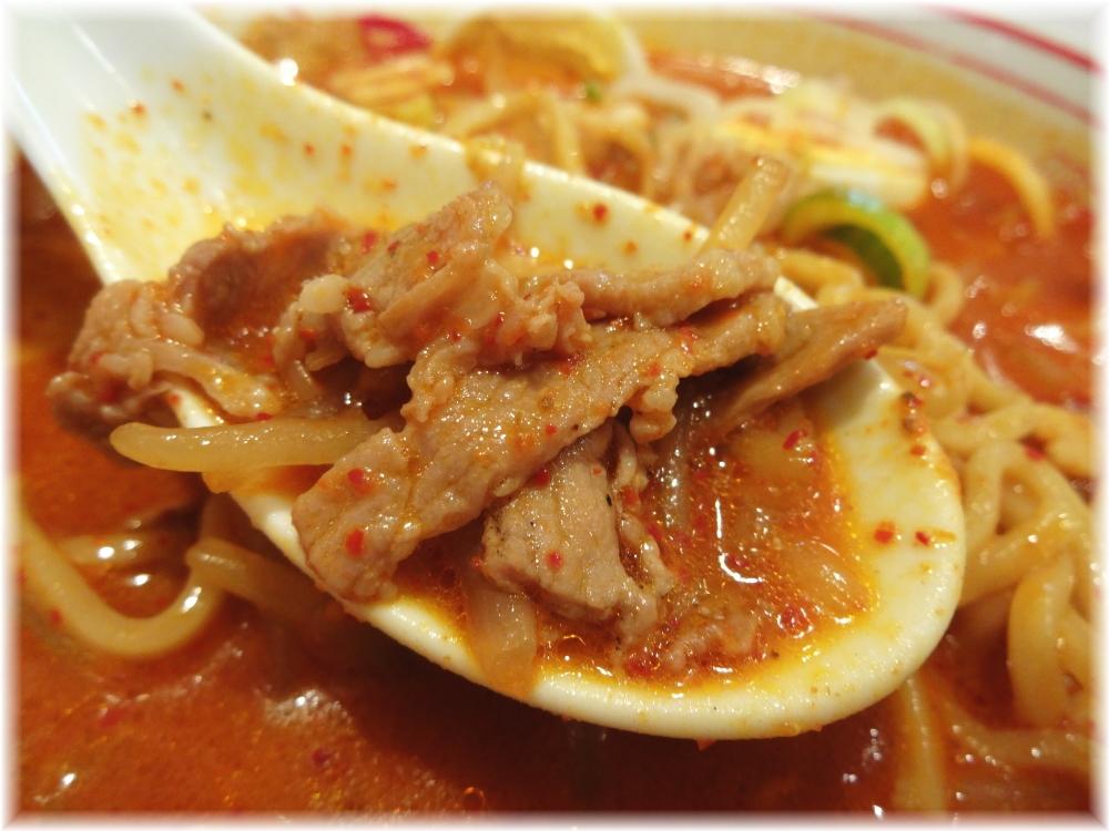 蒙古タンメン中本新宿 味噌卵麺のお肉