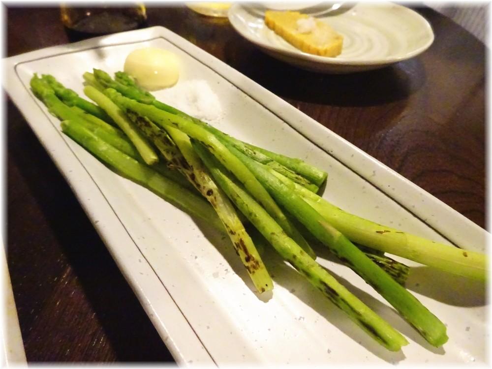 金町製麺7 焼きアスパラガス