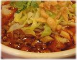 シーアン サンラー刀削麺の具