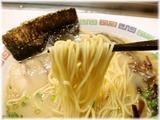 花山(屋台) ラーメンの麺