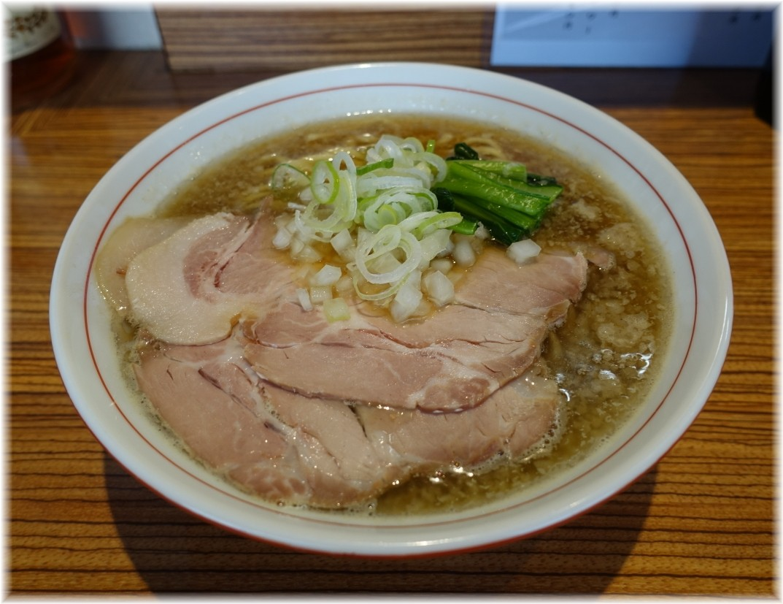 nibo 背脂煮干そば(小)