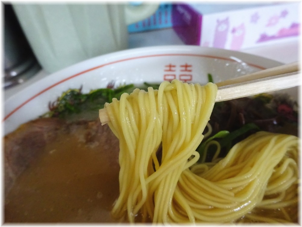 メロディー メロディーらーめんの麺