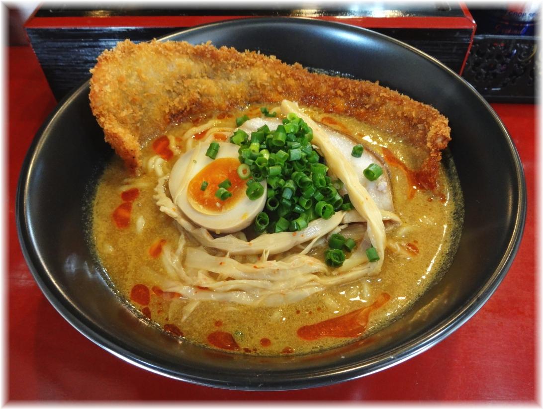 高円寺シンヤラーメン バラカツ伽辣麺