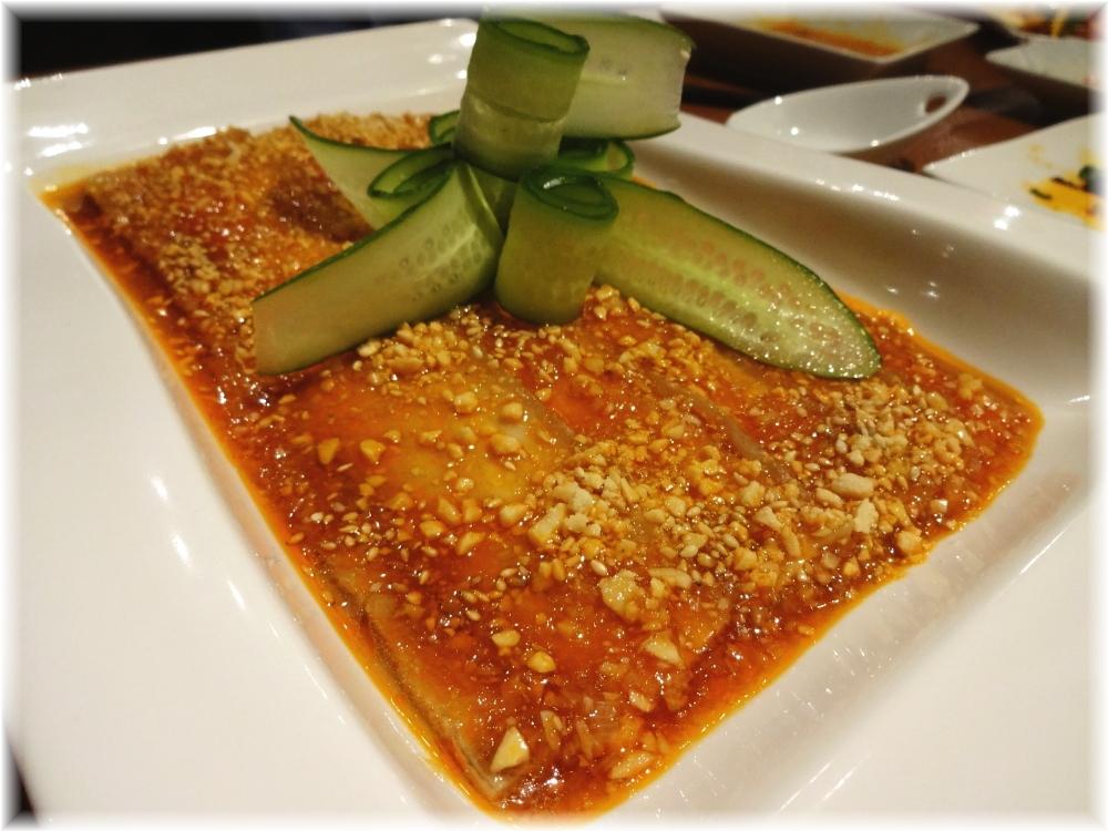 百菜百味 豚バラ肉のニンニクソース