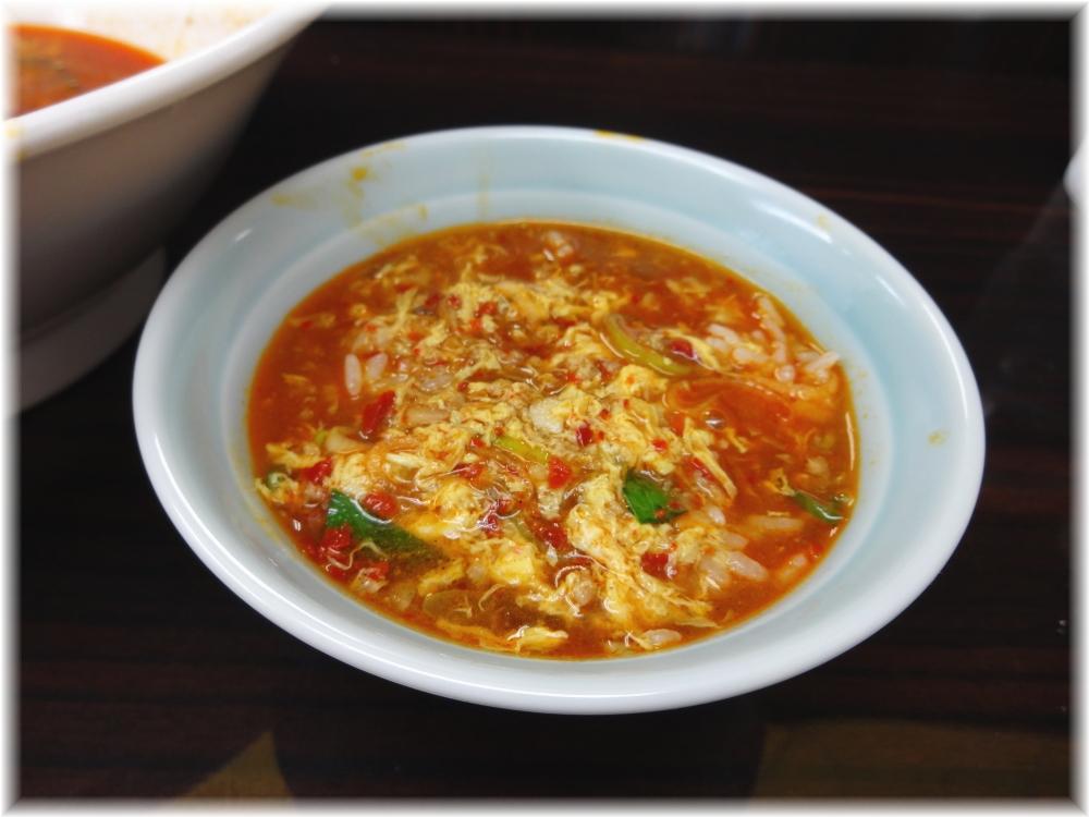 大河家 カレータンタン麺(並)にお試しライス2