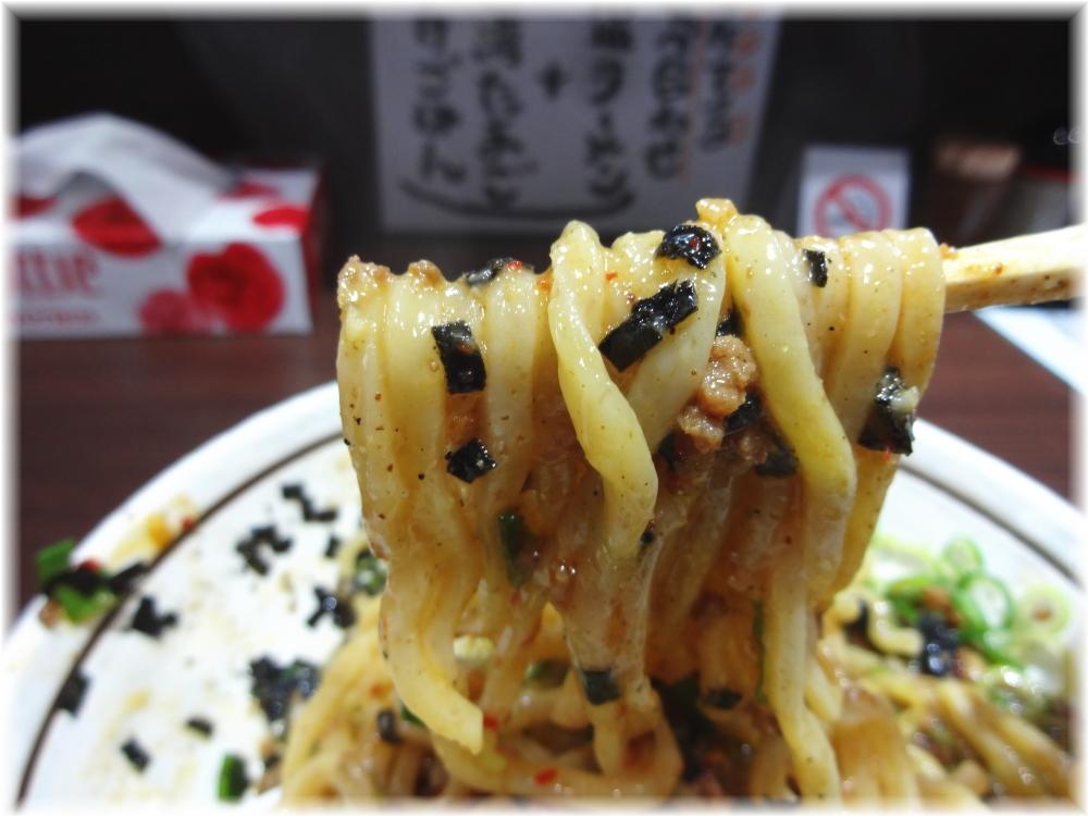 はなび新宿店 台湾まぜそばの麺2
