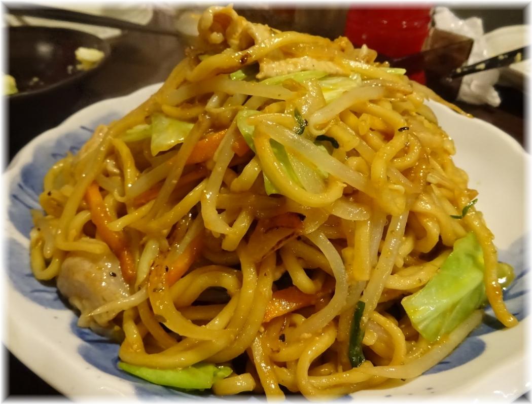 金町製麺5 味噌焼きそば