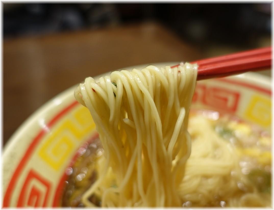 東京じゃんがらecute上野店3 味噌じゃんがらの麺