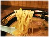 一蘭 天然とんこつラーメンの麺