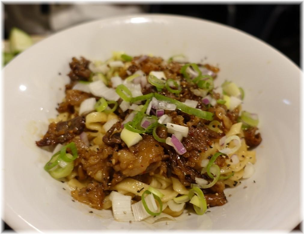金町製麺8 すき焼き味のまぜそば