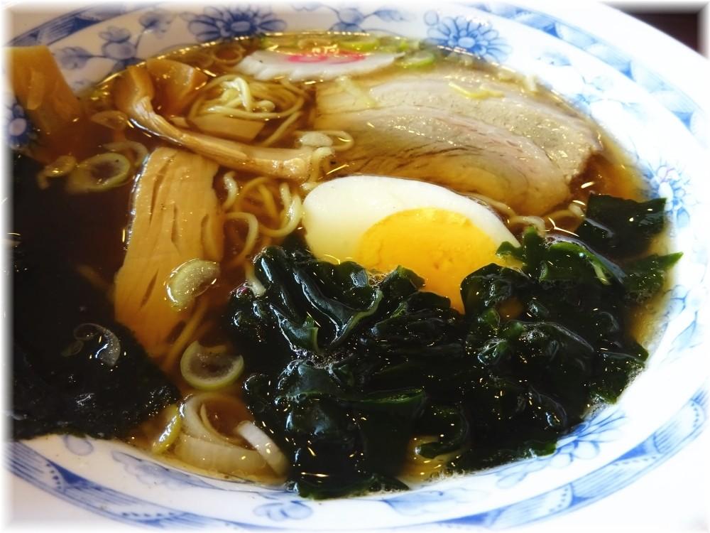 宇都宮餃子館 ラーメンセットのラーメン
